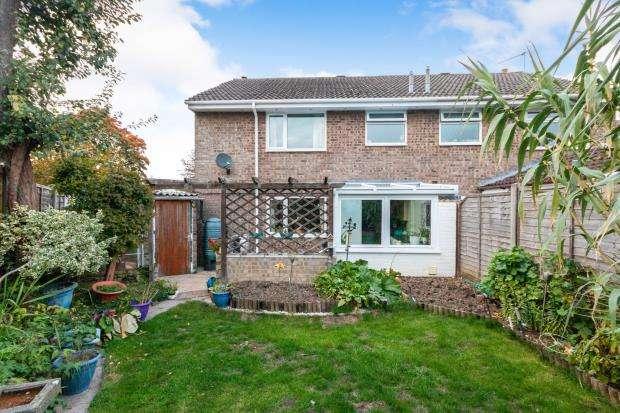 3 Bedrooms Semi Detached House for sale in Oakley, Basingstoke, Hampshire