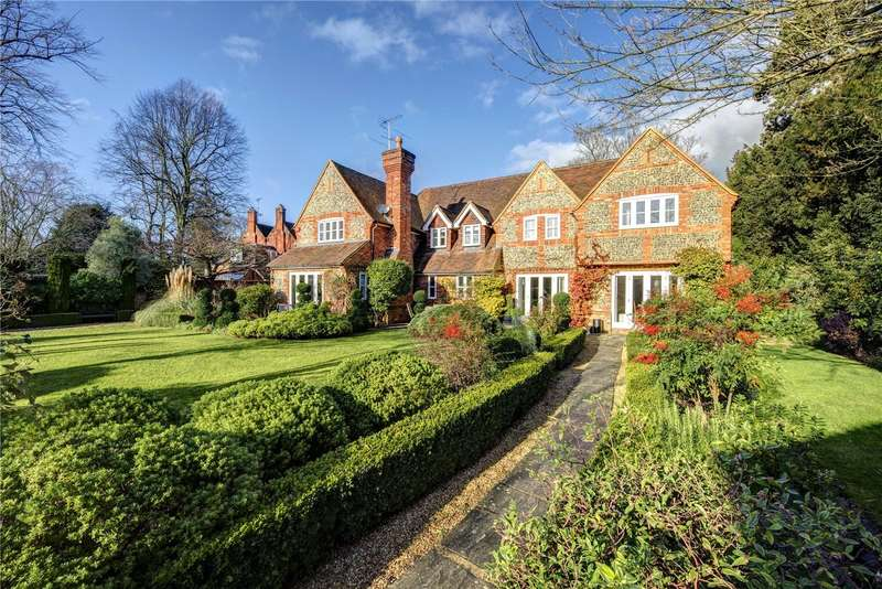 5 Bedrooms Detached House for sale in High Street, Hurley, Maidenhead, Berkshire, SL6