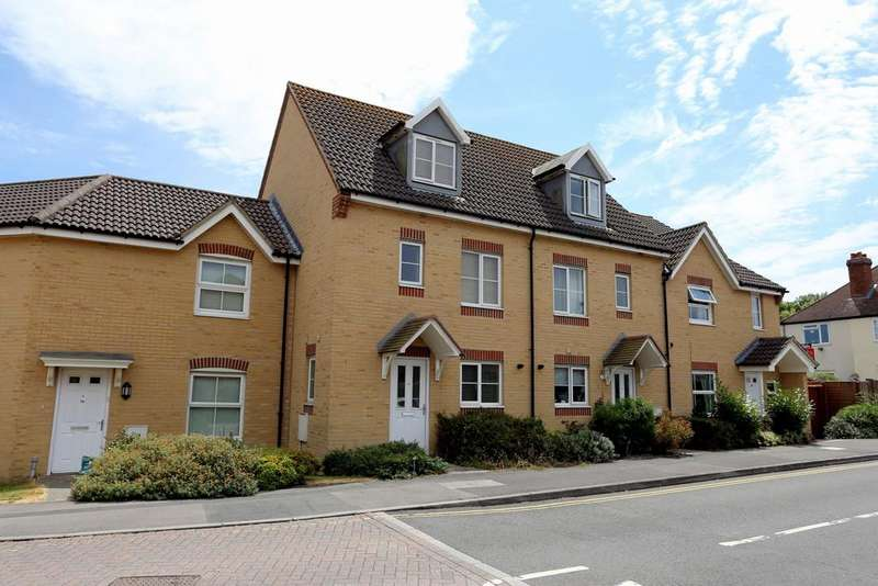 4 Bedrooms Terraced House for sale in Sunlight Gardens, Fareham