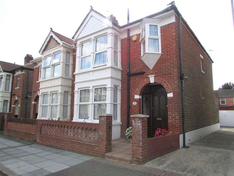 3 Bedrooms Semi Detached House for sale in Amberley Road, Hilsea, Portsmouth