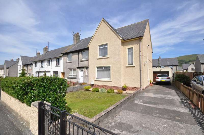3 Bedrooms End Of Terrace House for sale in 45 Roxburgh Road, Girvan KA26