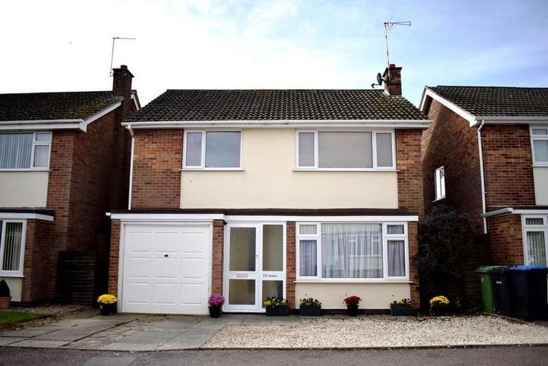4 Bedrooms Detached House for sale in Rowan Drive, Lutterworth
