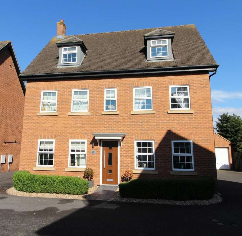 5 Bedrooms Detached House for sale in Irwin Road, Blyton