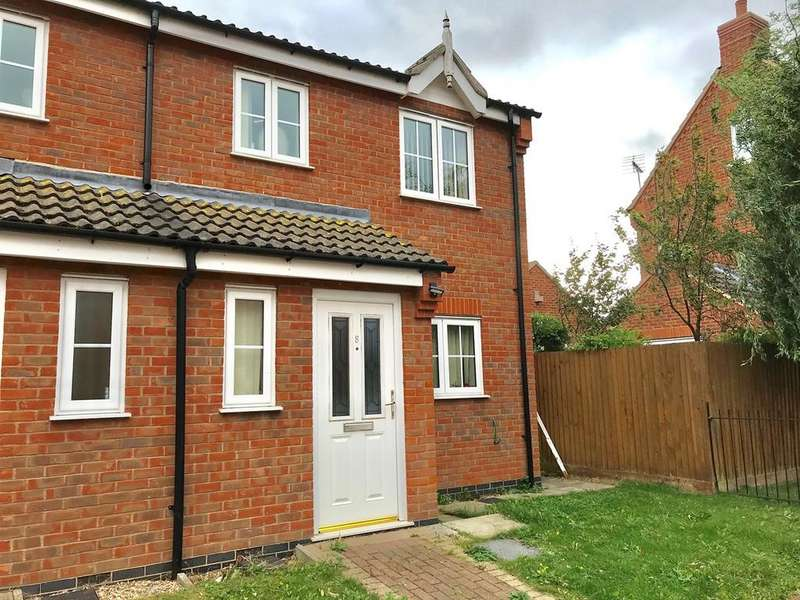 3 Bedrooms Semi Detached House for sale in Bonnington Court, Spalding, PE11