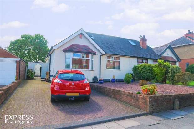 3 Bedrooms Semi Detached Bungalow for sale in Moorhouse Road, Carlisle, Cumbria