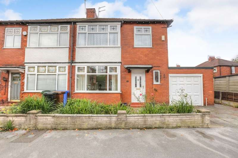 3 Bedrooms Semi Detached House for sale in Northcliffe Road, Stockport, SK2