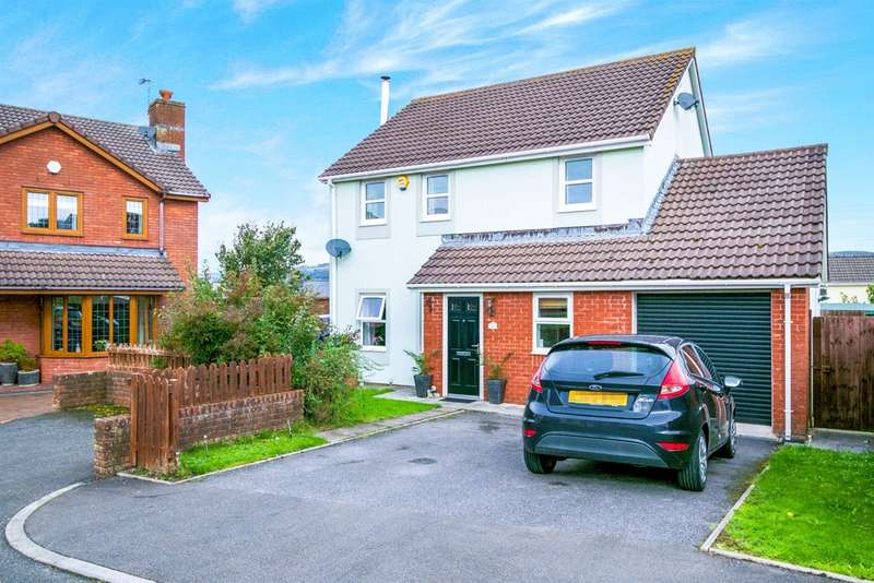 4 Bedrooms Detached House for sale in Clos Masons, Kenfig Hill