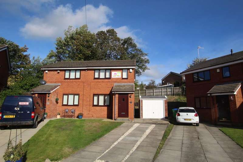 2 Bedrooms Semi Detached House for sale in Oliver Close, Littleborough