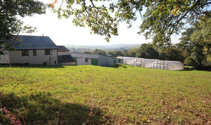 3 Bedrooms Farm House Character Property for sale in Immaculate 13 acre Smallholding near Truro TR4