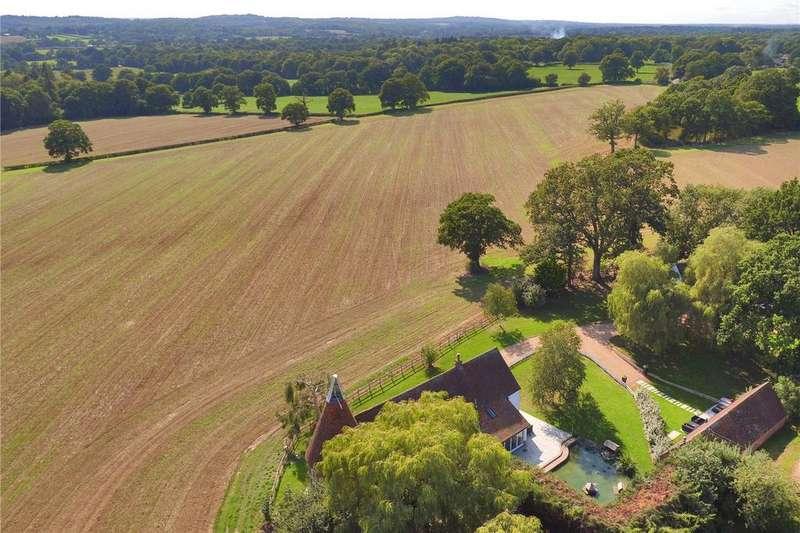 4 Bedrooms Detached House for sale in Hale Oak Road, Chiddingstone, Kent, TN8