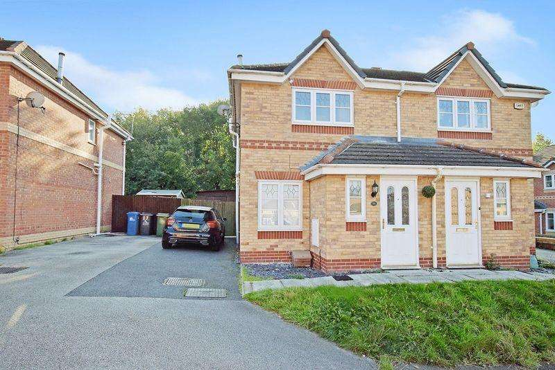 2 Bedrooms Semi Detached House for sale in Redtail Close, Runcorn