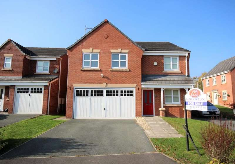 4 Bedrooms Detached House for sale in Bracken Close, Ruabon