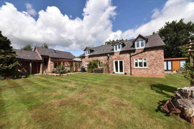 3 Bedrooms Equestrian Facility Character Property for sale in Pickmere Lane, Pickmere, Knutsford, Cheshire, WA16