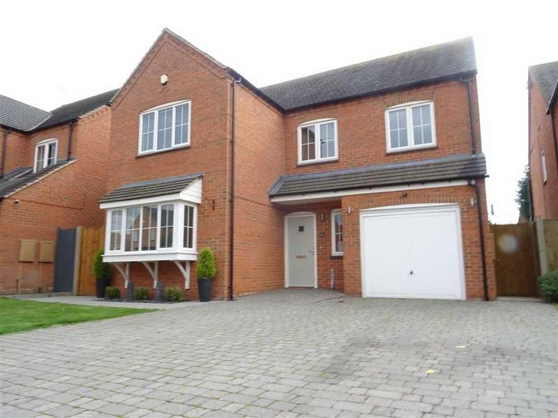 4 Bedrooms Detached House for sale in Cotes Road, Burbage