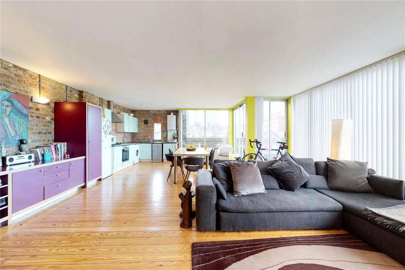 3 Bedrooms Penthouse Flat for sale in Casson Street, London, E1