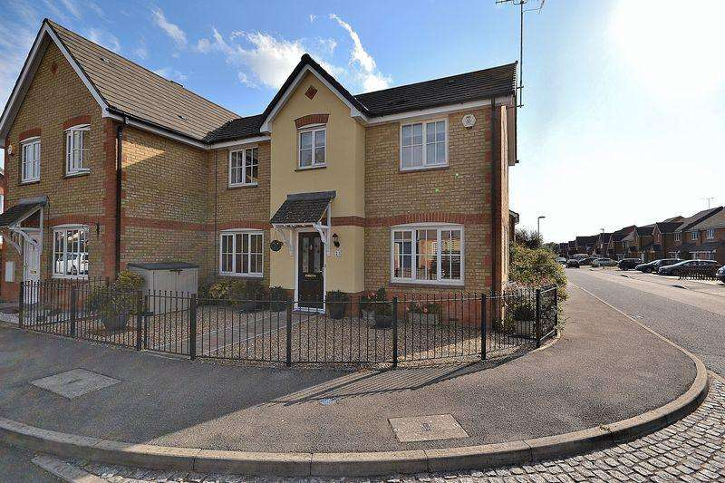 3 Bedrooms Semi Detached House for sale in Byford Way, Leighton Buzzard