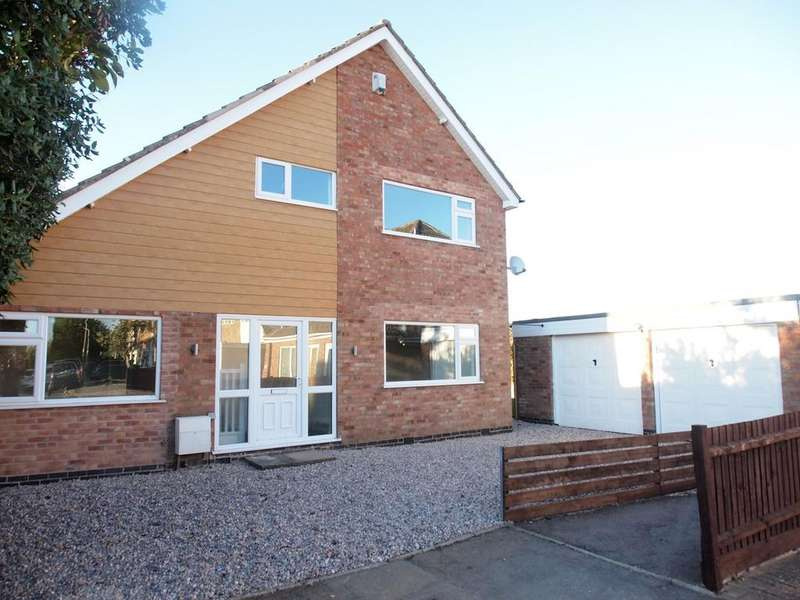 4 Bedrooms Detached House for sale in Kertley, Fleckney, Leicester, LE8
