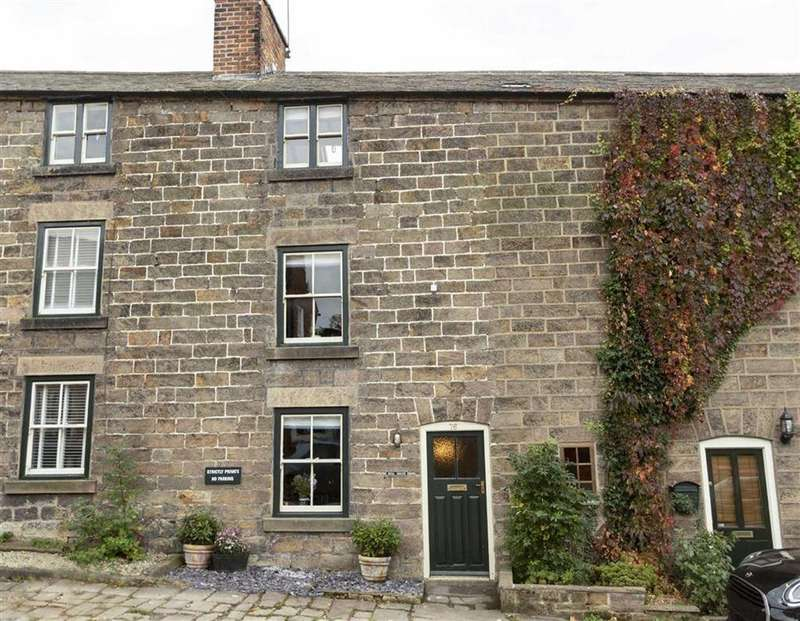 3 Bedrooms Terraced House for sale in Long Row, Belper, Derbyshire