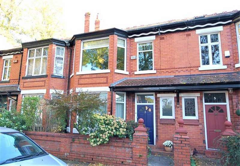 3 Bedrooms Terraced House for sale in Rutland Avenue, West Didsbury, Manchester, M20