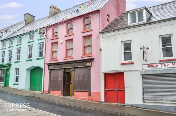 4 Bedrooms Terraced House for sale in Castle Street, Ballycastle, County Antrim