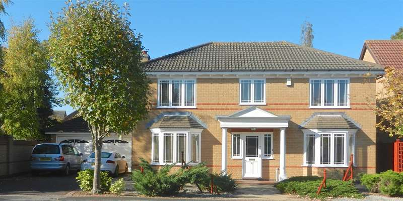 4 Bedrooms Detached House for sale in Spruce Avenue, Loughborough
