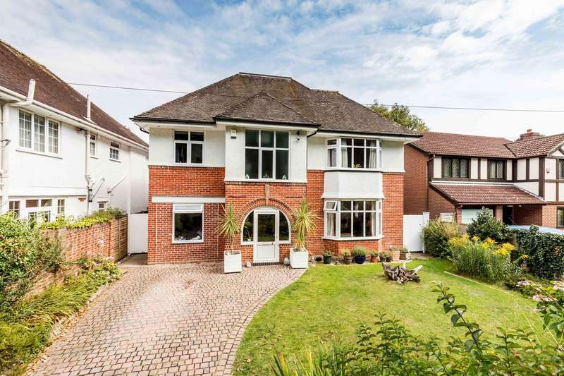 5 Bedrooms Detached House for sale in Woodland Avenue, Bournemouth, BH5