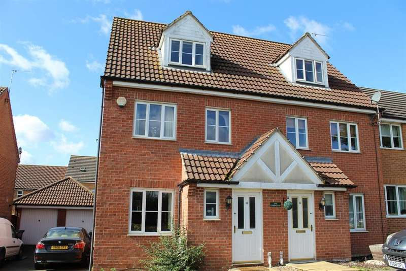 3 Bedrooms Semi Detached House for sale in Spilsby Meadows, Spilsby, Lincolnshire, PE23 5GA