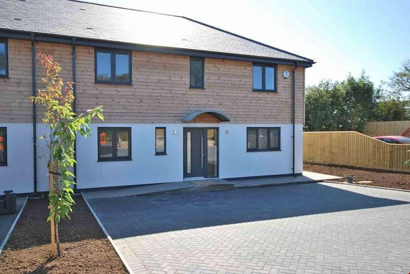 4 Bedrooms Semi Detached House for sale in Townshend, Nr. Marazion, Cornwall, TR27