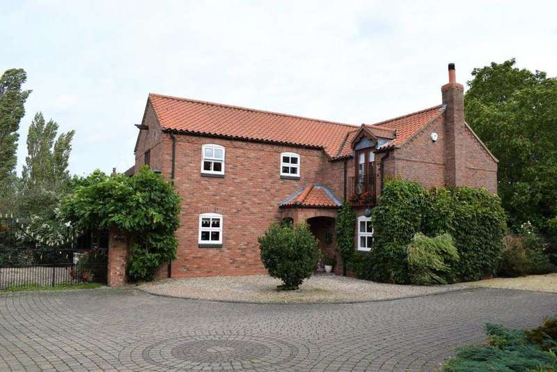 4 Bedrooms Detached House for sale in The Old Stackyard, Wrawby, DN20