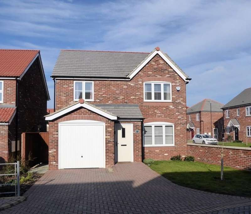 4 Bedrooms Detached House for sale in The Park, Louth