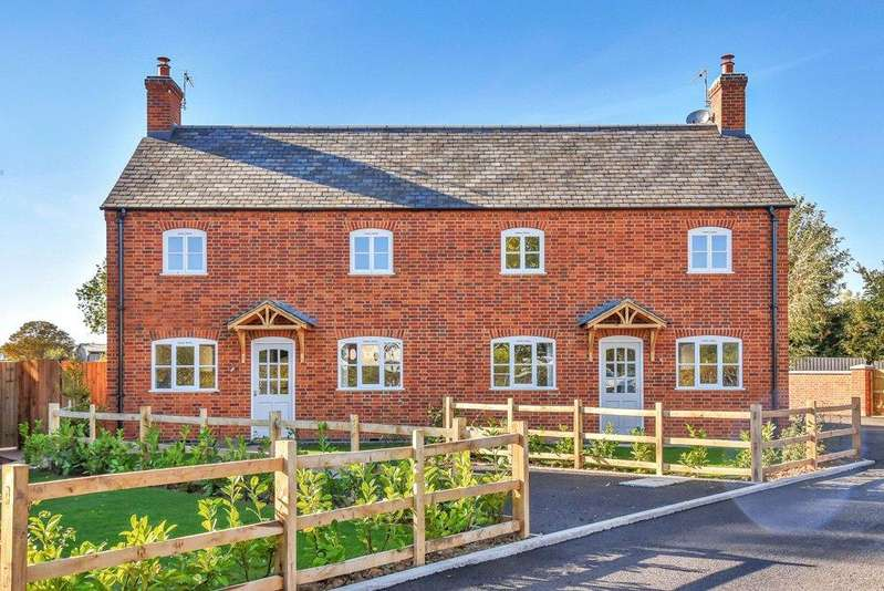 3 Bedrooms Semi Detached House for sale in East Cottage, Drayton Road, Medbourne