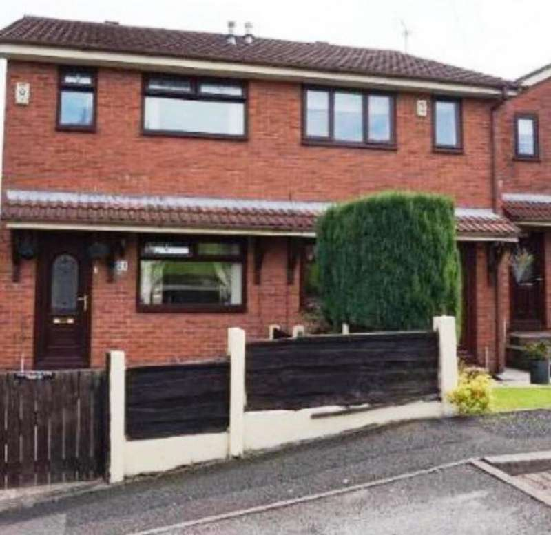 2 Bedrooms Semi Detached House for sale in Captain Fold, Heywood