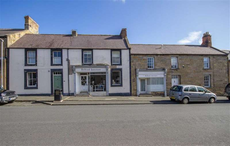 3 Bedrooms Cottage House for sale in Main Street, Belford, Northumberland, NE70