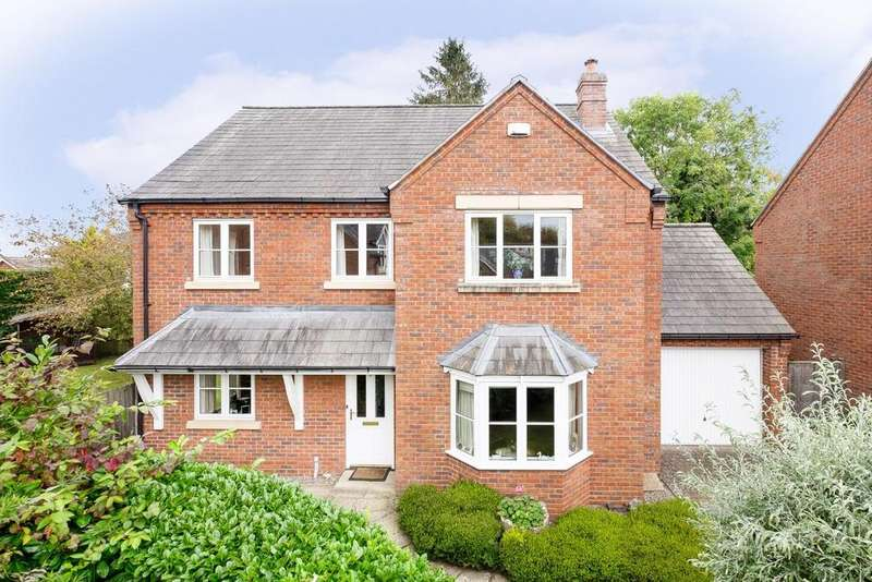 3 Bedrooms Detached House for sale in Off Kings Acre Road, Hereford