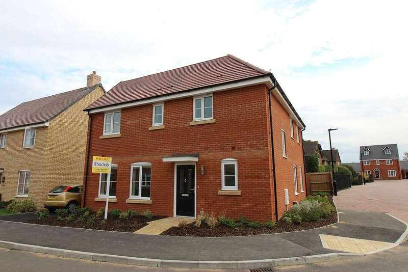3 Bedrooms Detached House for sale in Herberts Meadow, Clifton, SG17