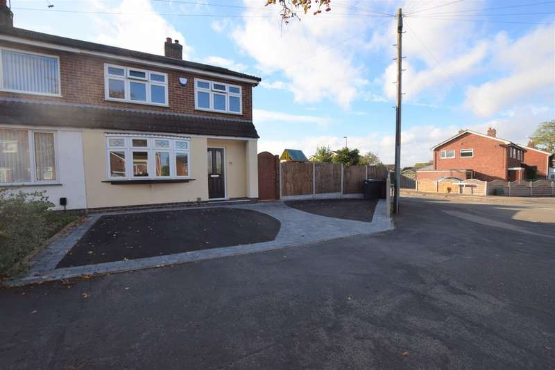3 Bedrooms Semi Detached House for sale in Roston Drive , Hinckley LE10