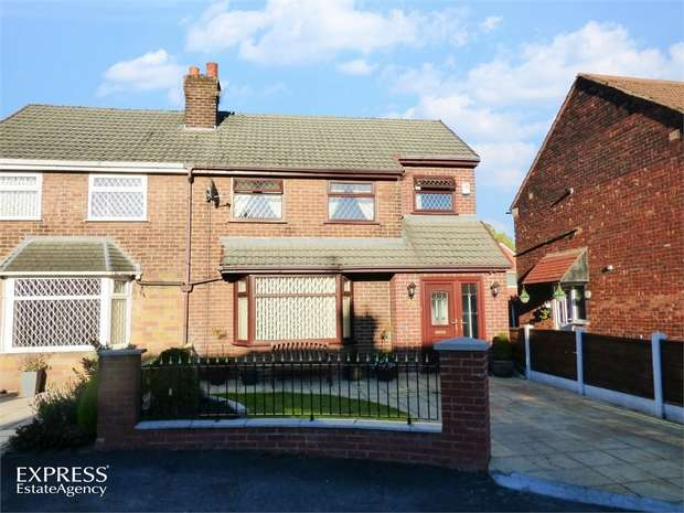 4 Bedrooms Semi Detached House for sale in Gail Close, Failsworth, Manchester, Lancashire
