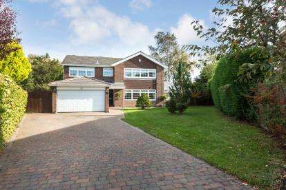 5 Bedrooms Detached House for sale in Avondale Road, Darras Hall, Northumberland, Tyne Wear, NE20