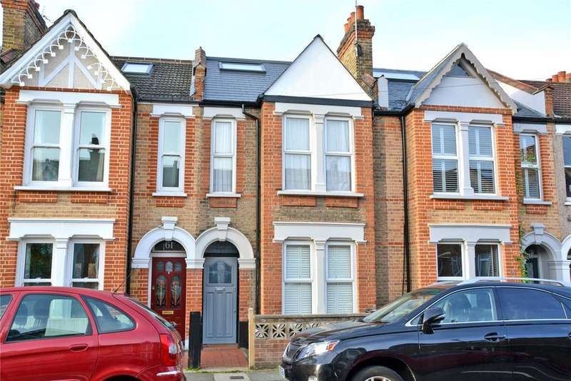 5 Bedrooms Terraced House for sale in Longhurst Road, Hither Green, London, SE13