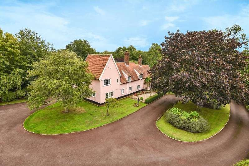 6 Bedrooms Detached House for sale in Hall Road, Charsfield, Woodbridge, Suffolk, IP13