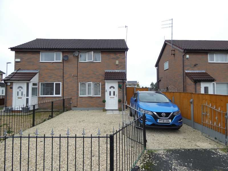 2 Bedrooms Semi Detached House for sale in Camdale Close, Liverpool, Merseyside, L28