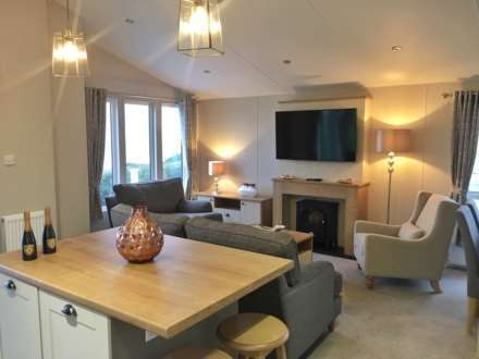 3 Bedrooms Lodge Character Property for sale in Brynowen Holiday Park, Ceredigion