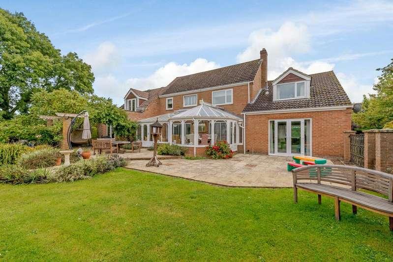4 Bedrooms Detached House for sale in Ashley Road, Middleton, Market Harborough, LE16