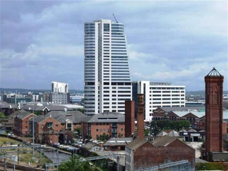 2 Bedrooms Flat for sale in Bridgewater Place, Water Lane, Leeds, LS11 5QB