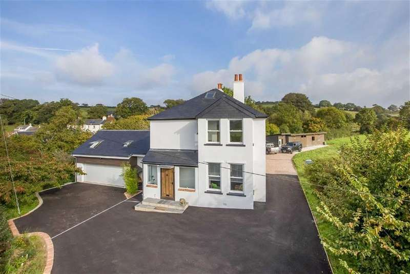 4 Bedrooms Detached House for sale in Uphempston, Littlehempston, Devon, TQ9