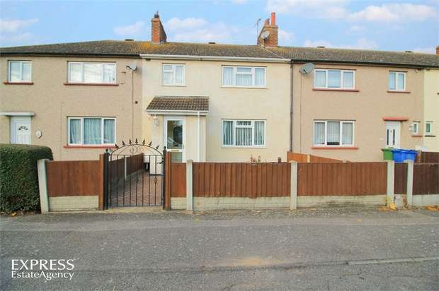 3 Bedrooms Terraced House for sale in Shakespeare Avenue, Tilbury, Essex