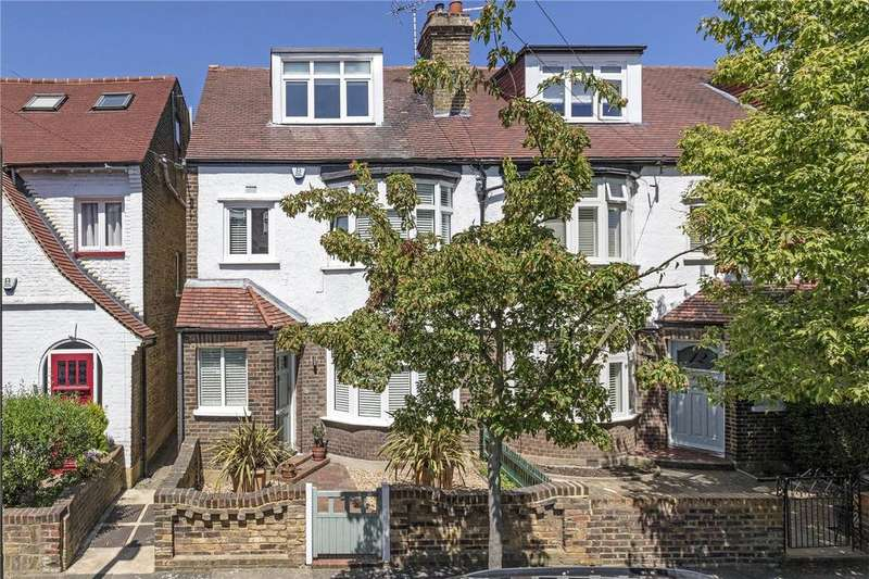 5 Bedrooms Semi Detached House for sale in Medcroft Gardens, East Sheen, London, SW14