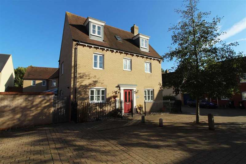 5 Bedrooms Detached House for sale in James Gore Drive, Colchester