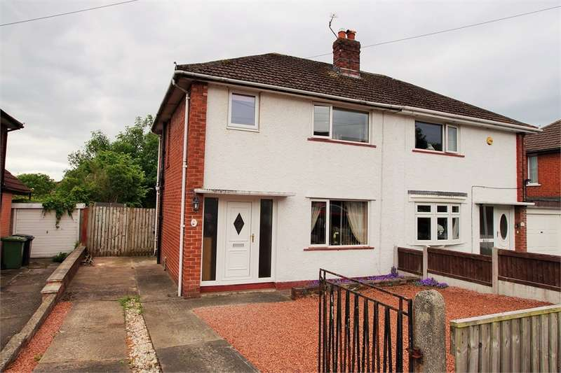 2 Bedrooms Semi Detached House for sale in CA2 7QB Green Lane, Belle Vue, Carlisle, Cumbria