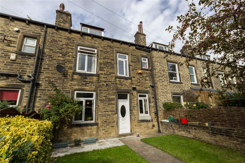 4 Bedrooms Terraced House for sale in Rothwell Mount, Halifax, West Yorkshire, HX1